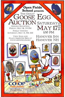 Egg Auction 2008 Poster